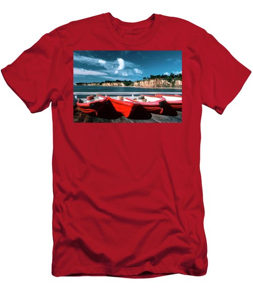 Red Boat Diaries Men's T-Shirt (Athletic Fit)