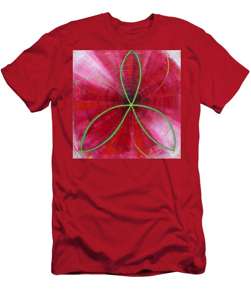 Red Chakra Men's T-Shirt (Athletic Fit)