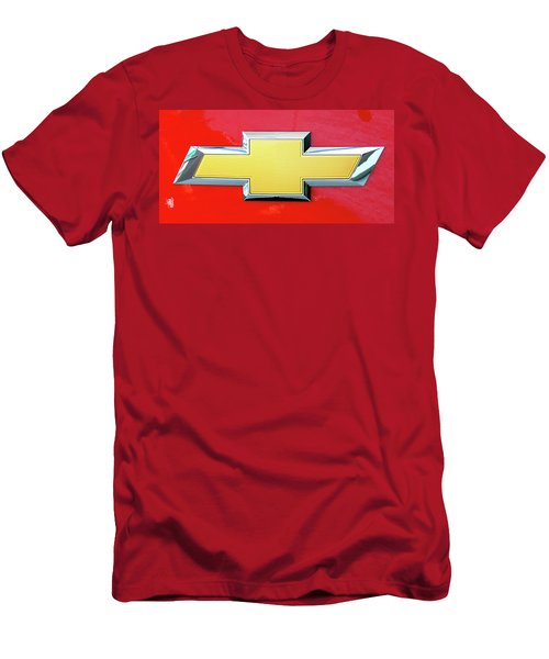 Red Chevy Bowtie Men's T-Shirt (Athletic Fit)