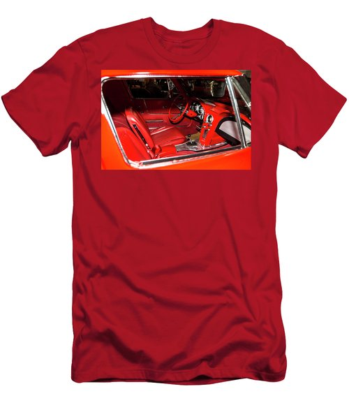 Red Corvette Stingray Men's T-Shirt (Athletic Fit)