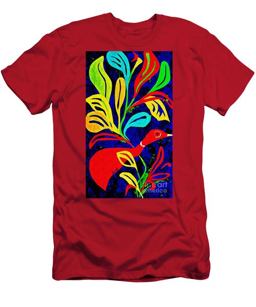 Red Duck Men's T-Shirt (Athletic Fit)