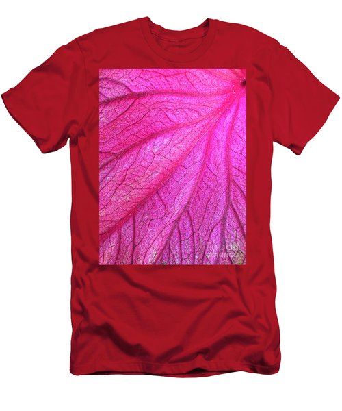 Red Leaf Arteries Men's T-Shirt (Athletic Fit)