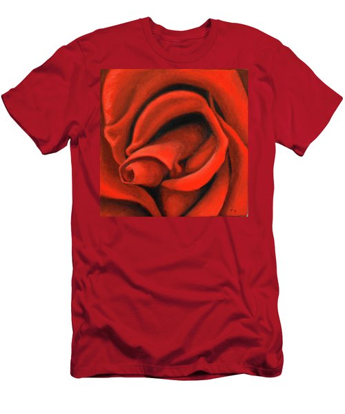 Red Lips Men's T-Shirt (Athletic Fit)