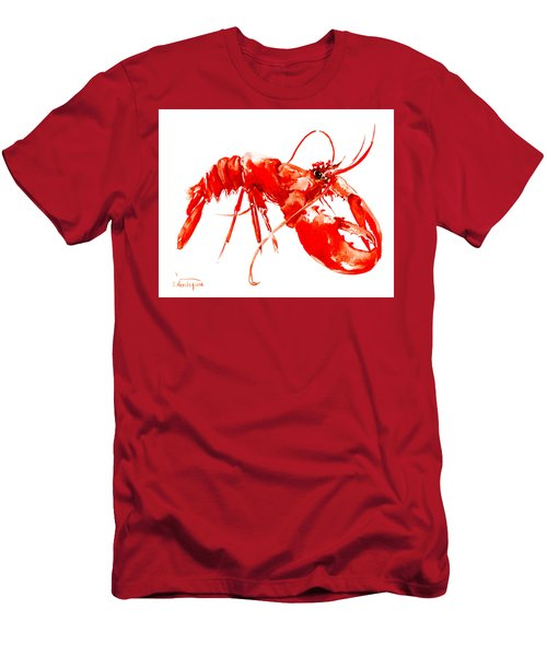 Red Lobster Men's T-Shirt (Athletic Fit)