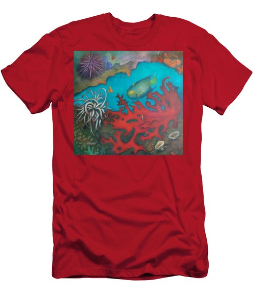 Red Reef Men's T-Shirt (Athletic Fit)