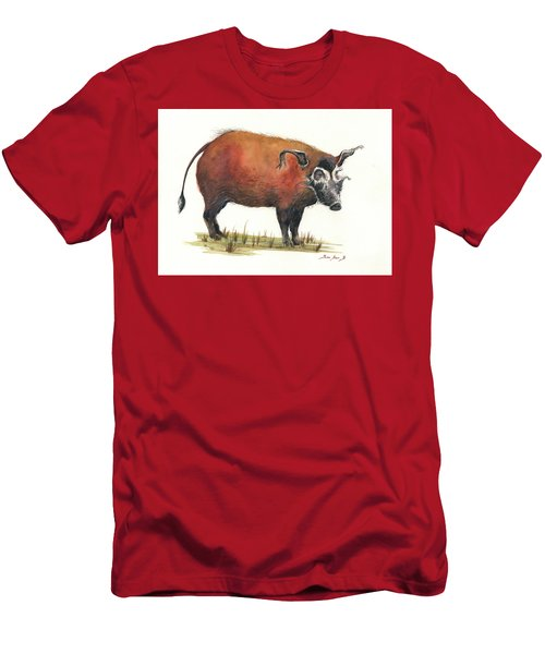 Red River Hog Men's T-Shirt (Athletic Fit)