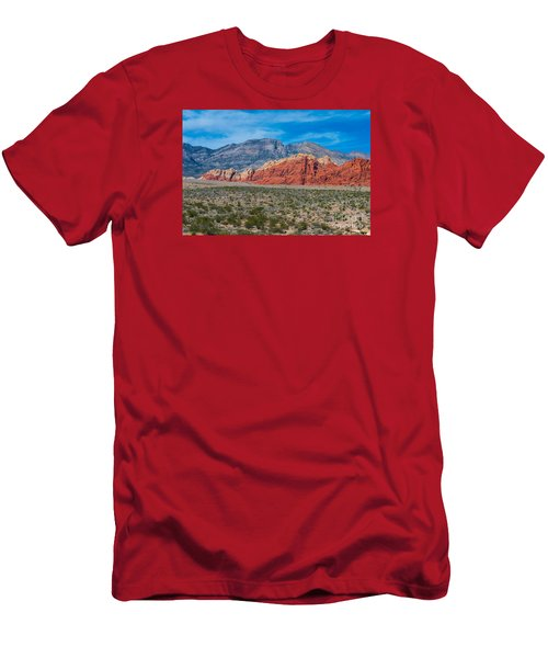 Red Rock Canyon Men's T-Shirt (Athletic Fit)