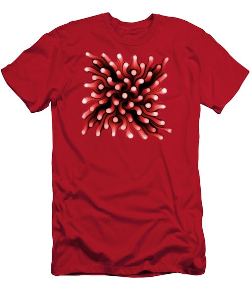 Red Sea Anemone Men's T-Shirt (Athletic Fit)