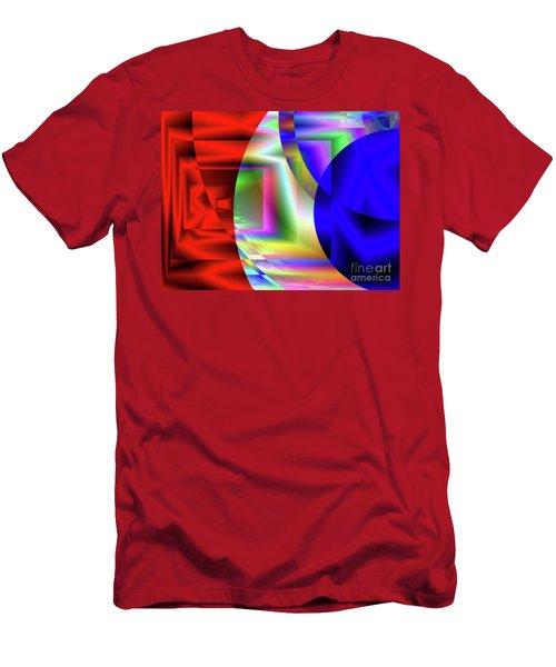 Red White And Blue 3 Men's T-Shirt (Athletic Fit)