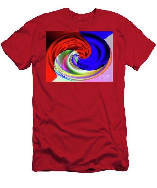 Red White And Blue 4 Men's T-Shirt (Athletic Fit)