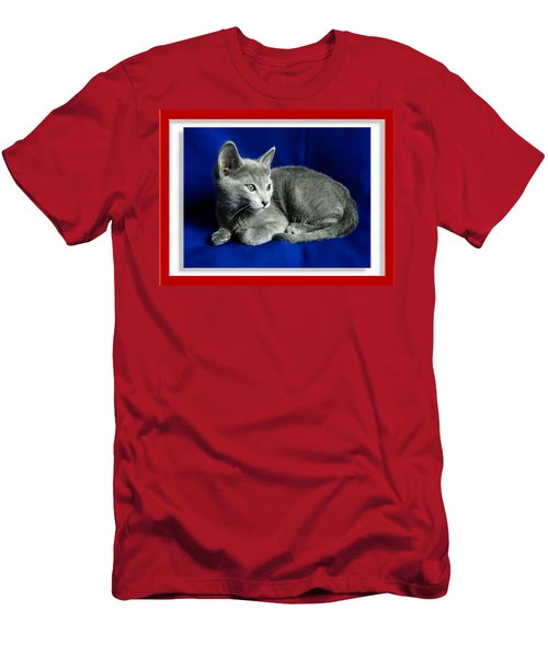 Red, White, Russian Blue Men's T-Shirt (Athletic Fit)