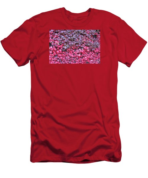 Red Wine Men's T-Shirt (Athletic Fit)