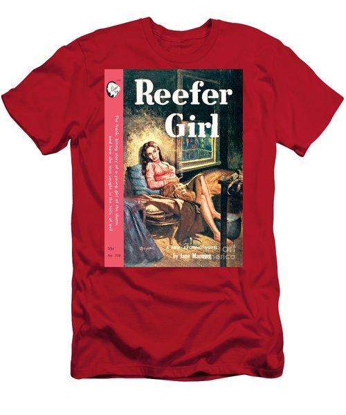 Reefer Gilr Men's T-Shirt (Athletic Fit)