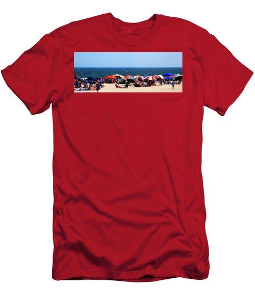 Rehobath Beach Men's T-Shirt (Athletic Fit)