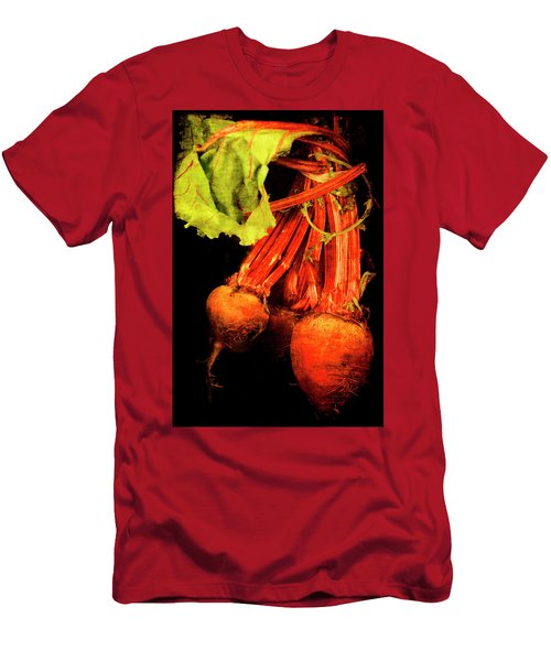 Men's T-Shirt (Athletic Fit) featuring the photograph Renaissance Beetroot by Jennifer Wright