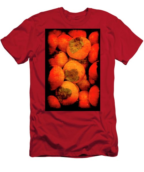 Men's T-Shirt (Athletic Fit) featuring the photograph Renaissance Persimmons by Jennifer Wright