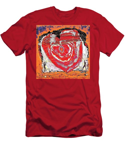 Rescuers Of The Broken Heart Men's T-Shirt (Athletic Fit)