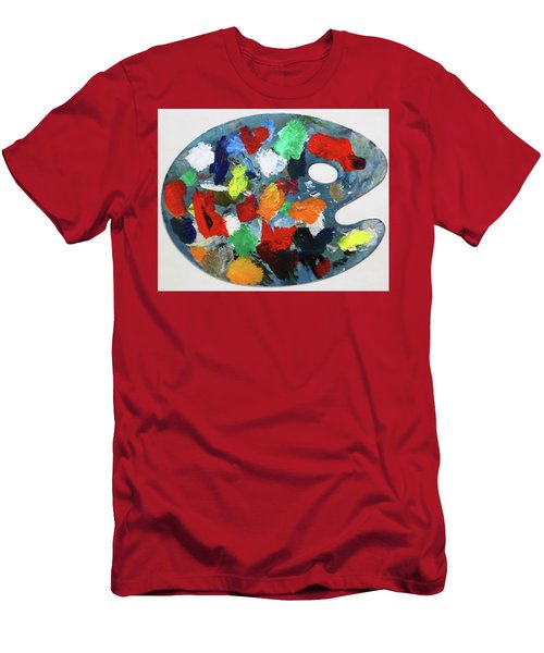The Artists Palette Men's T-Shirt (Athletic Fit)