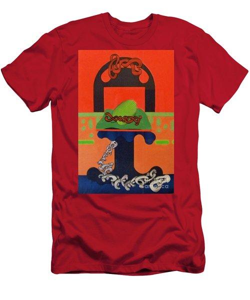 Rfb0121 Men's T-Shirt (Athletic Fit)