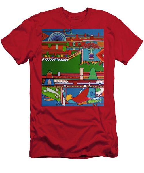 Rfb0404 Men's T-Shirt (Athletic Fit)