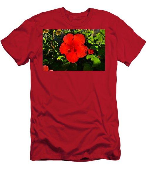 Rich Red  Men's T-Shirt (Athletic Fit)