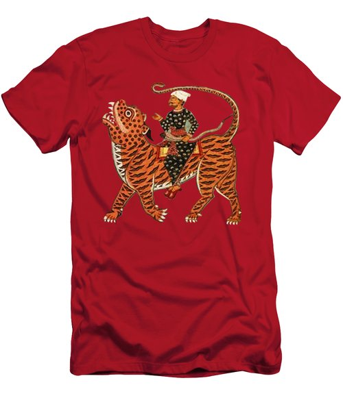 Riding The Tiger Men's T-Shirt (Athletic Fit)