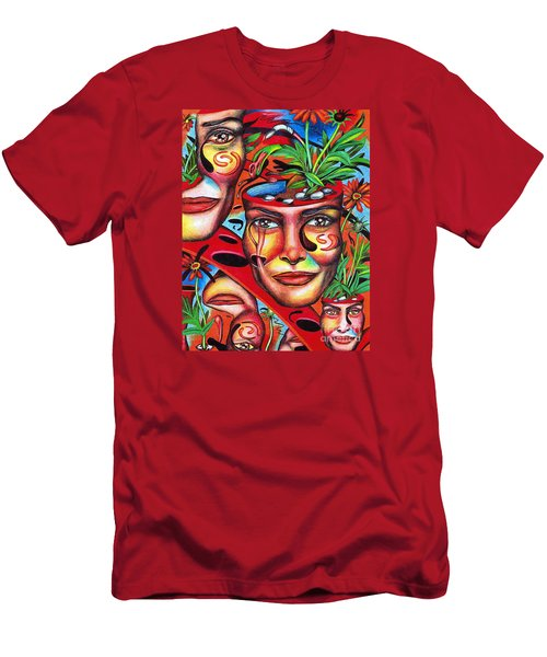 Ripening Of A Lucid Psyche Men's T-Shirt (Athletic Fit)