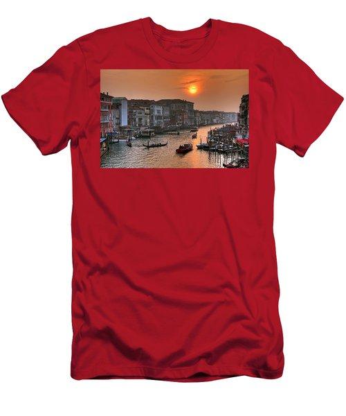 Riva Del Ferro. Venezia Men's T-Shirt (Athletic Fit)