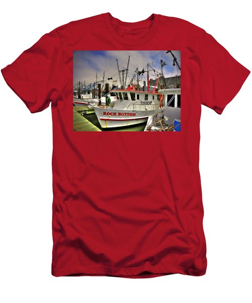Men's T-Shirt (Slim Fit) featuring the photograph Rock Bottom by Savannah Gibbs