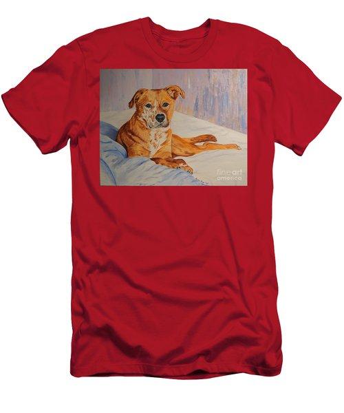 Rockaroni Men's T-Shirt (Slim Fit) by Lisa Rose Musselwhite