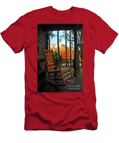 Rocking In Fall Men's T-Shirt (Athletic Fit)