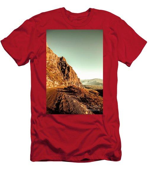 Rocky Mountain Route Men's T-Shirt (Athletic Fit)