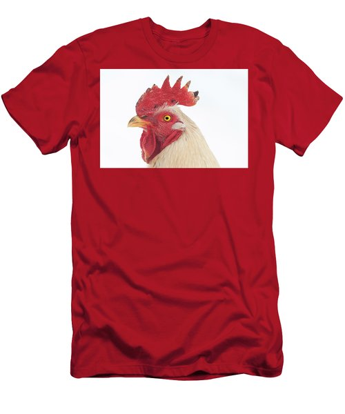 Rooster Named Spot Men's T-Shirt (Athletic Fit)