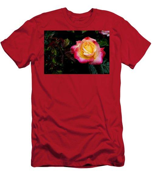 Rose 1 Men's T-Shirt (Athletic Fit)