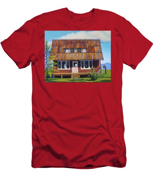 Roseberry House Men's T-Shirt (Athletic Fit)
