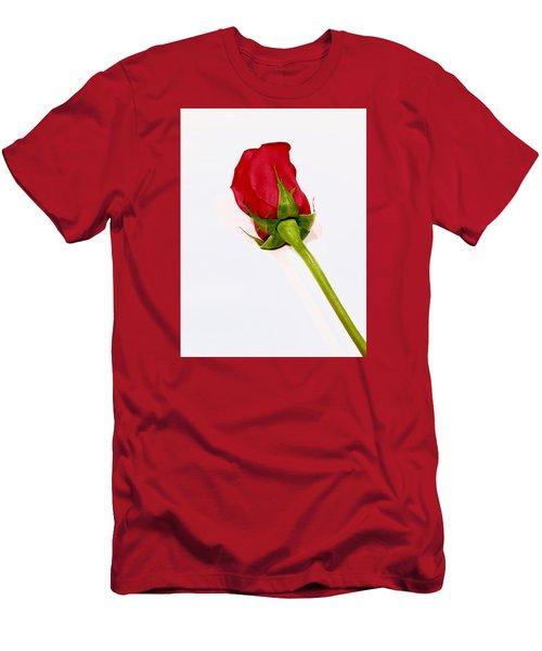Rosebud Men's T-Shirt (Slim Fit) by Russell Keating