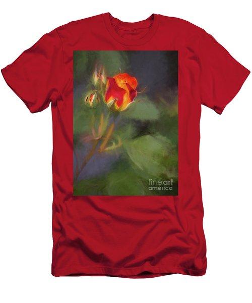 Rosebuds Men's T-Shirt (Slim Fit) by Billie-Jo Miller