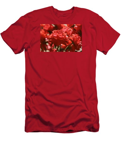 Roses 3 Men's T-Shirt (Athletic Fit)