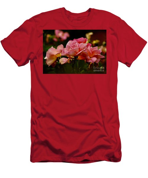 Roses By The Bunch Men's T-Shirt (Athletic Fit)