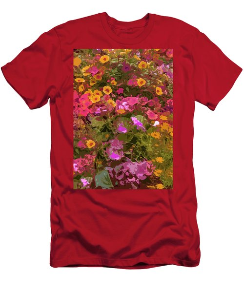 Rosy Garden Men's T-Shirt (Athletic Fit)