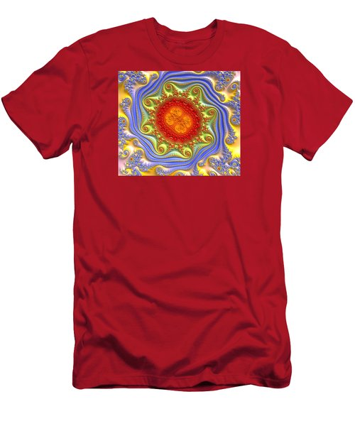 Royal Crown Jewels Men's T-Shirt (Slim Fit) by Kevin Caudill