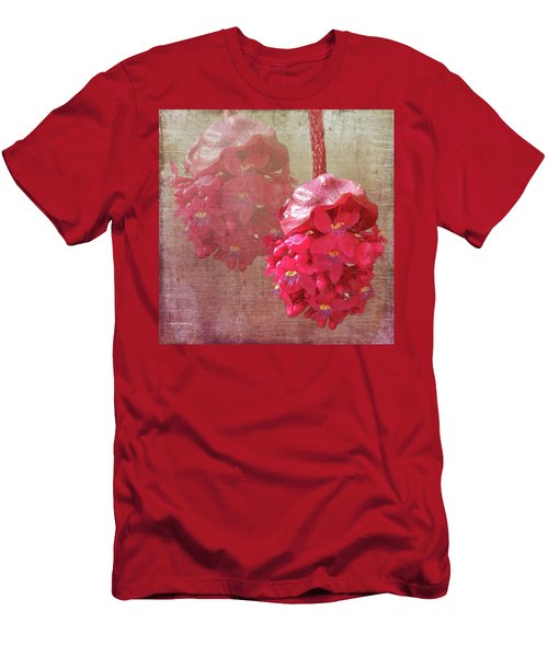 Ruby Colored Orchid Men's T-Shirt (Athletic Fit)