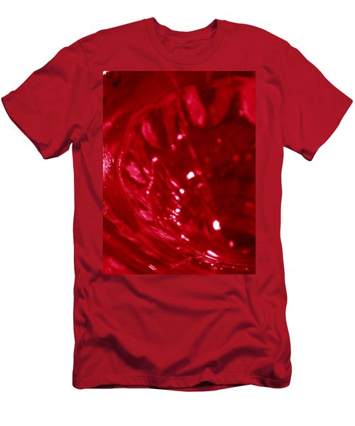 Ruby Glass Beauty Men's T-Shirt (Slim Fit) by Samantha Thome