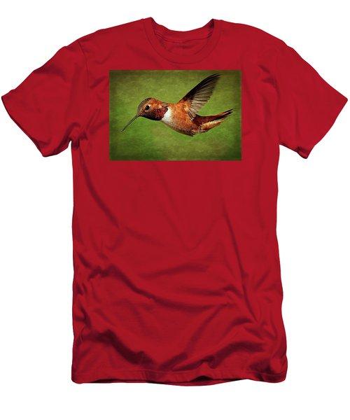 Rufous Portrait Men's T-Shirt (Athletic Fit)