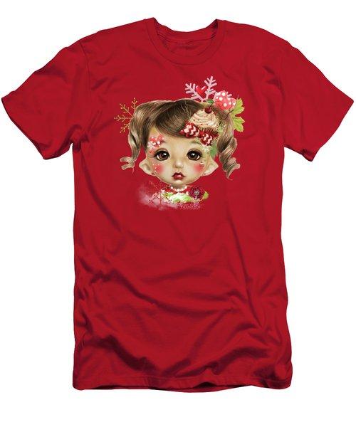 Sabrina - Elf  Men's T-Shirt (Slim Fit) by Sheena Pike