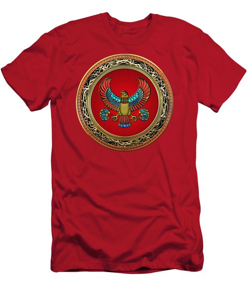 Sacred Egyptian Falcon Men's T-Shirt (Athletic Fit)