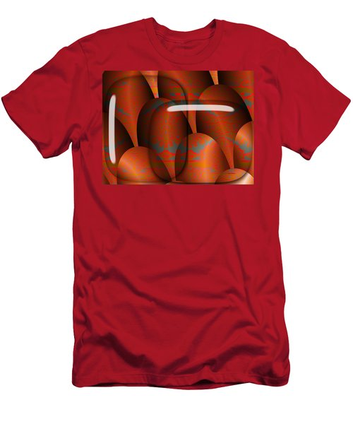 Men's T-Shirt (Slim Fit) featuring the digital art Sahara by Robert Orinski