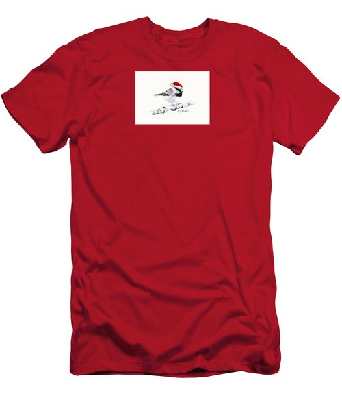 Santa Bandit - Chickadee Men's T-Shirt (Athletic Fit)