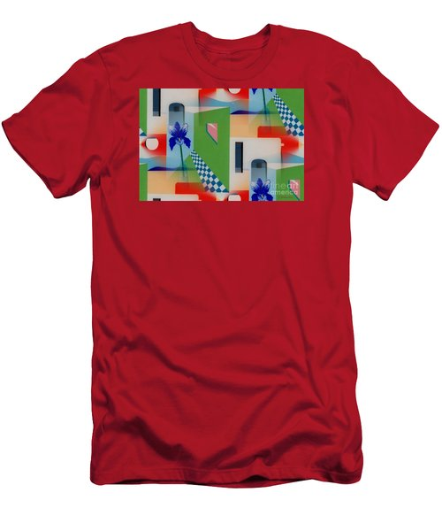 Santa Fe Adobe - #1 Men's T-Shirt (Athletic Fit)