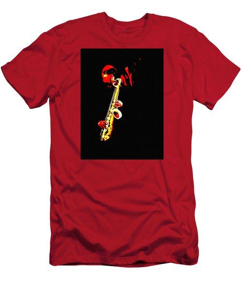 Sax Tribute Men's T-Shirt (Athletic Fit)